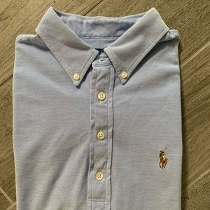 Ralph Lauren Short Sleeve Shirt Polo Light Blue M